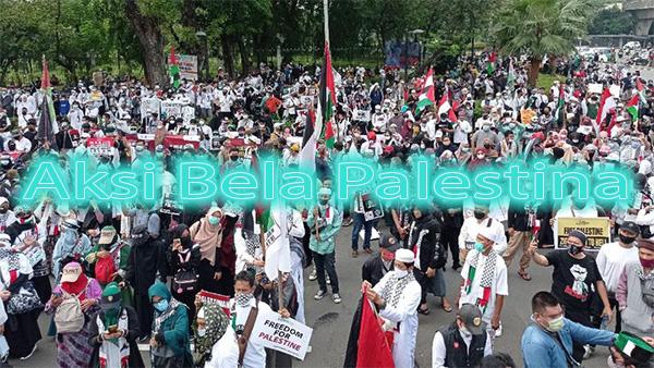 Aksi Bela Palestina Menghebohkan Dunia